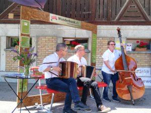 Kulturmühle Lützelflüh Wanderbank